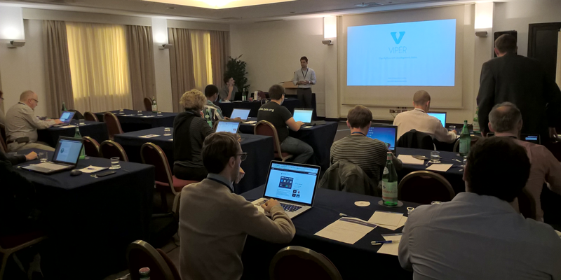 "VIPER at IoT360 Summit 2015 for the ""Life on Mars"" Hackathon"