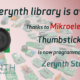 A new Zerynth library is available: Thumbstick Click Board