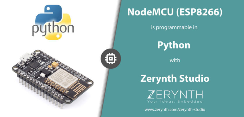 How to Program NodeMCU (ESP8266) in Python with Zerynth