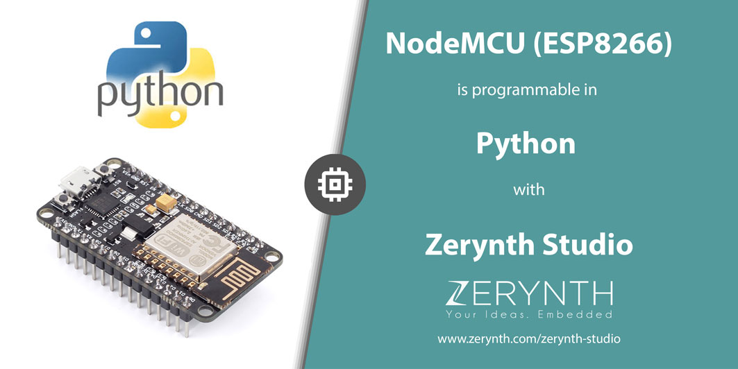 How to Program NodeMCU (ESP8266) in Python with Zerynth