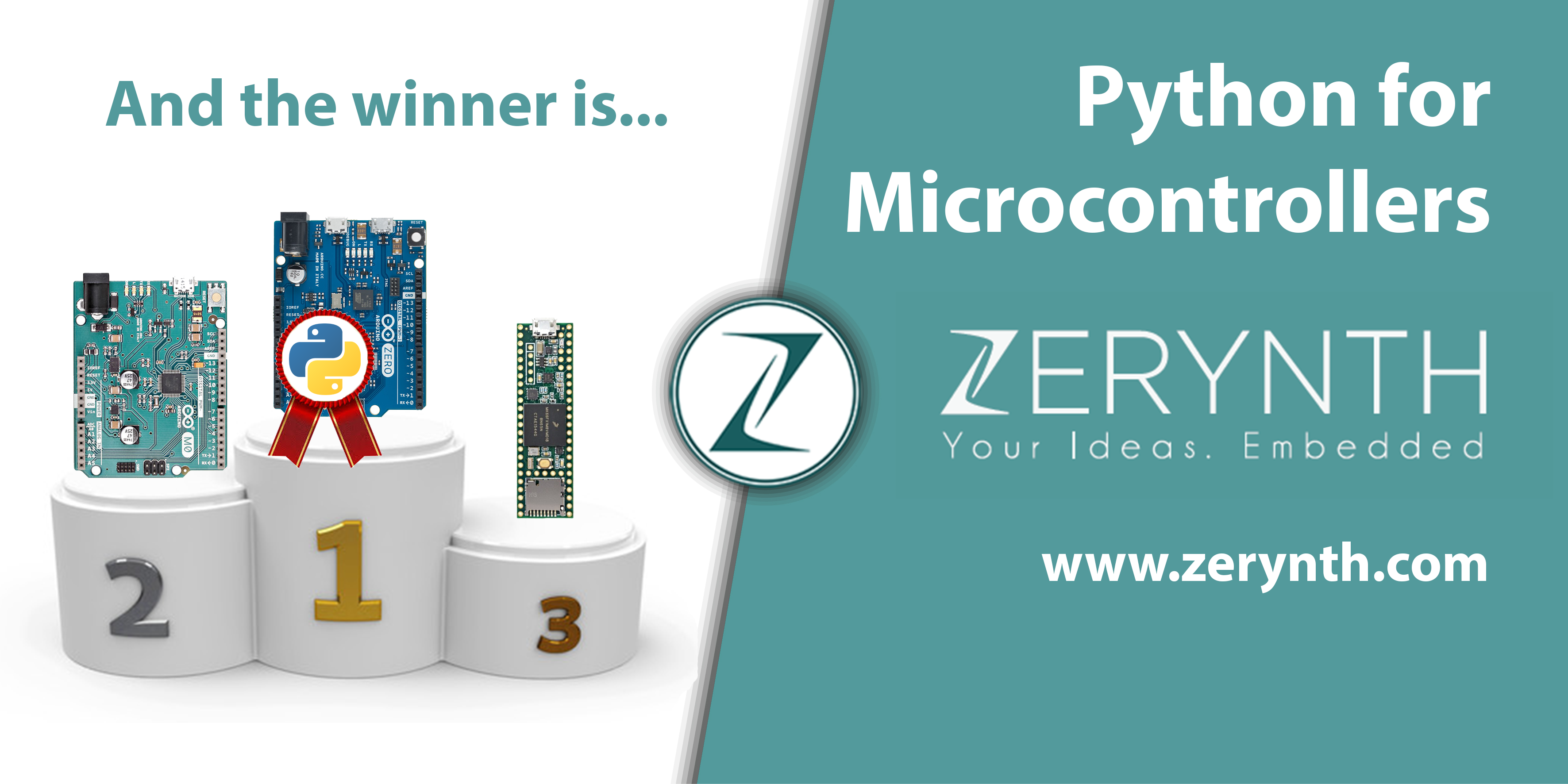 Python for Microcontrollers: and the winner is