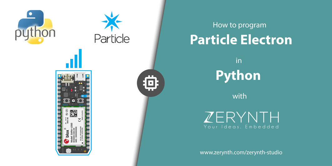 How to Program Particle Electron (cellular IoT) in Python