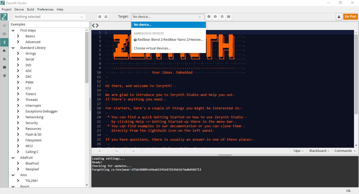 Programming Hexiwear (wearable + IoT) in Python using Zerynth