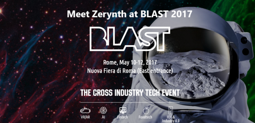 Meet Zerynth at Blast 2017 and discover how to design for IoT and Industry 4.0