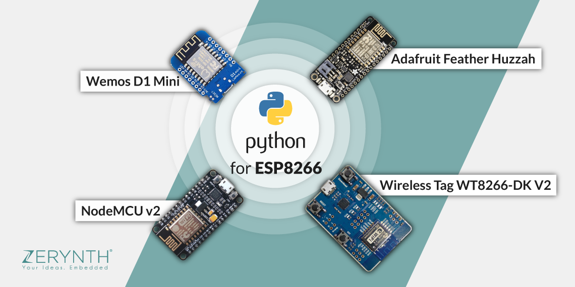 Python for ESP8266 in just a few clicks using Zerynth