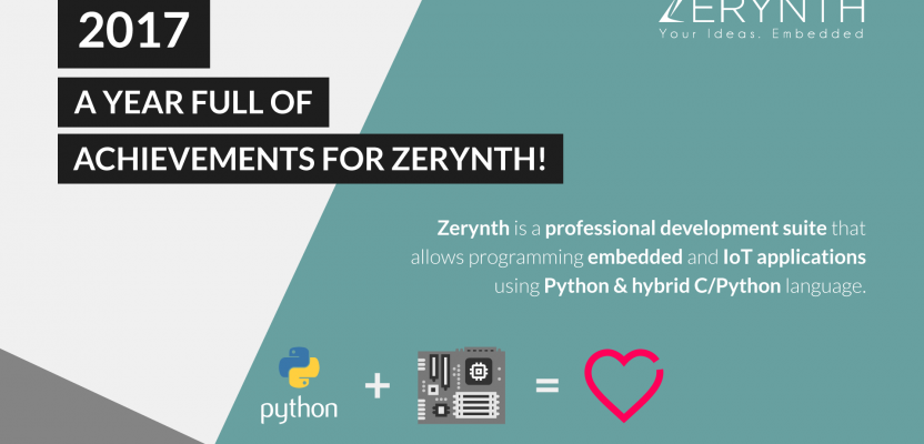 2017: a Year full of Achievements for Zerynth!