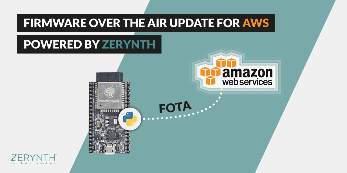 Firmware Over-the-air updates via AWS powered by Zerynth
