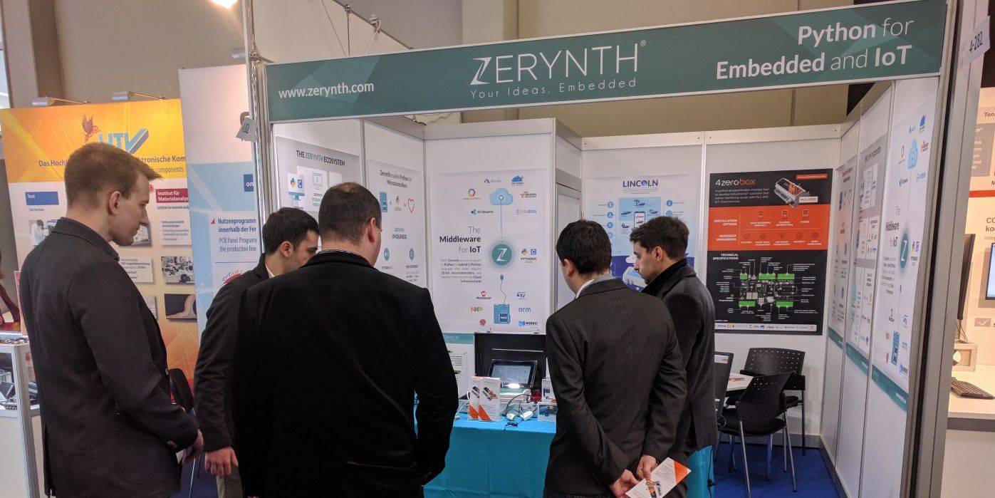 Embedded World Day 1 – we are off to a great start