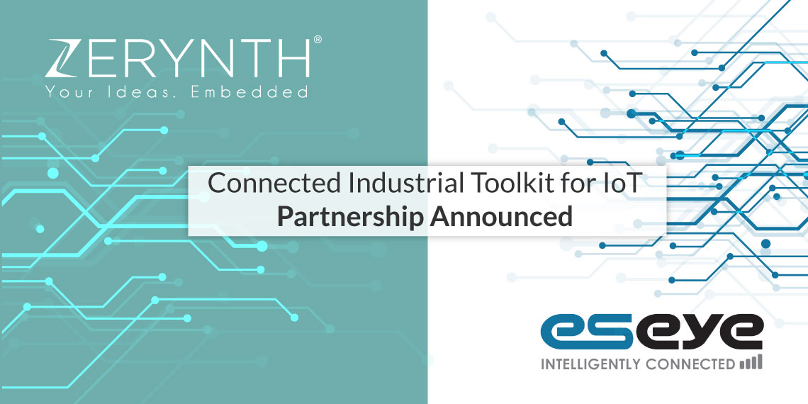 Connected Industrial Toolkit for IoT – Zerynth and Eseye partnership announced