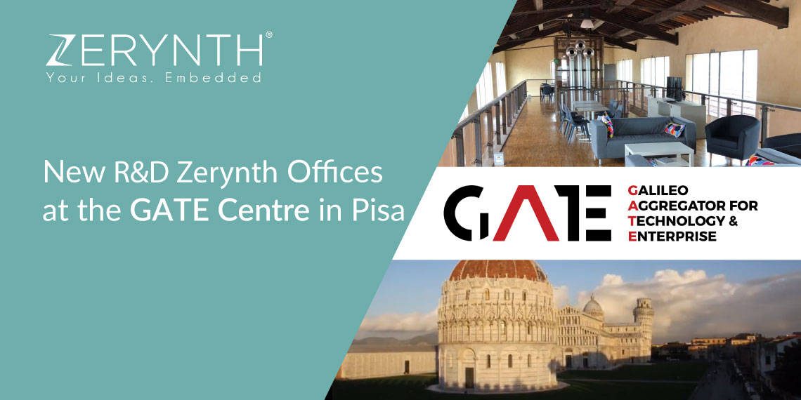 New R&D Zerynth Offices at the GATE Centre in Pisa