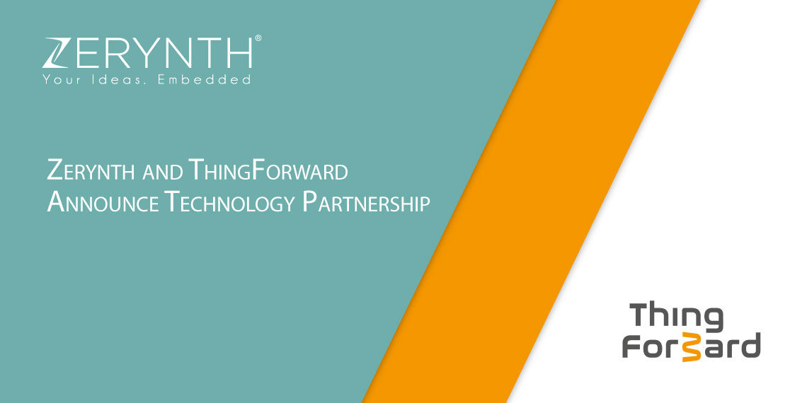 Zerynth and ThingForward Announce Technology Partnership