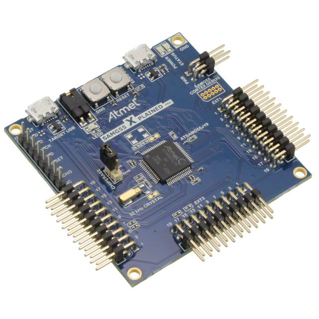 Microchip's SAMG55 Xplained Pro supported by Zerynth