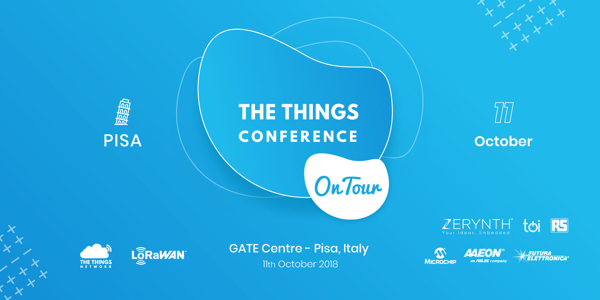 The Things Conference on Tour Pisa Italy
