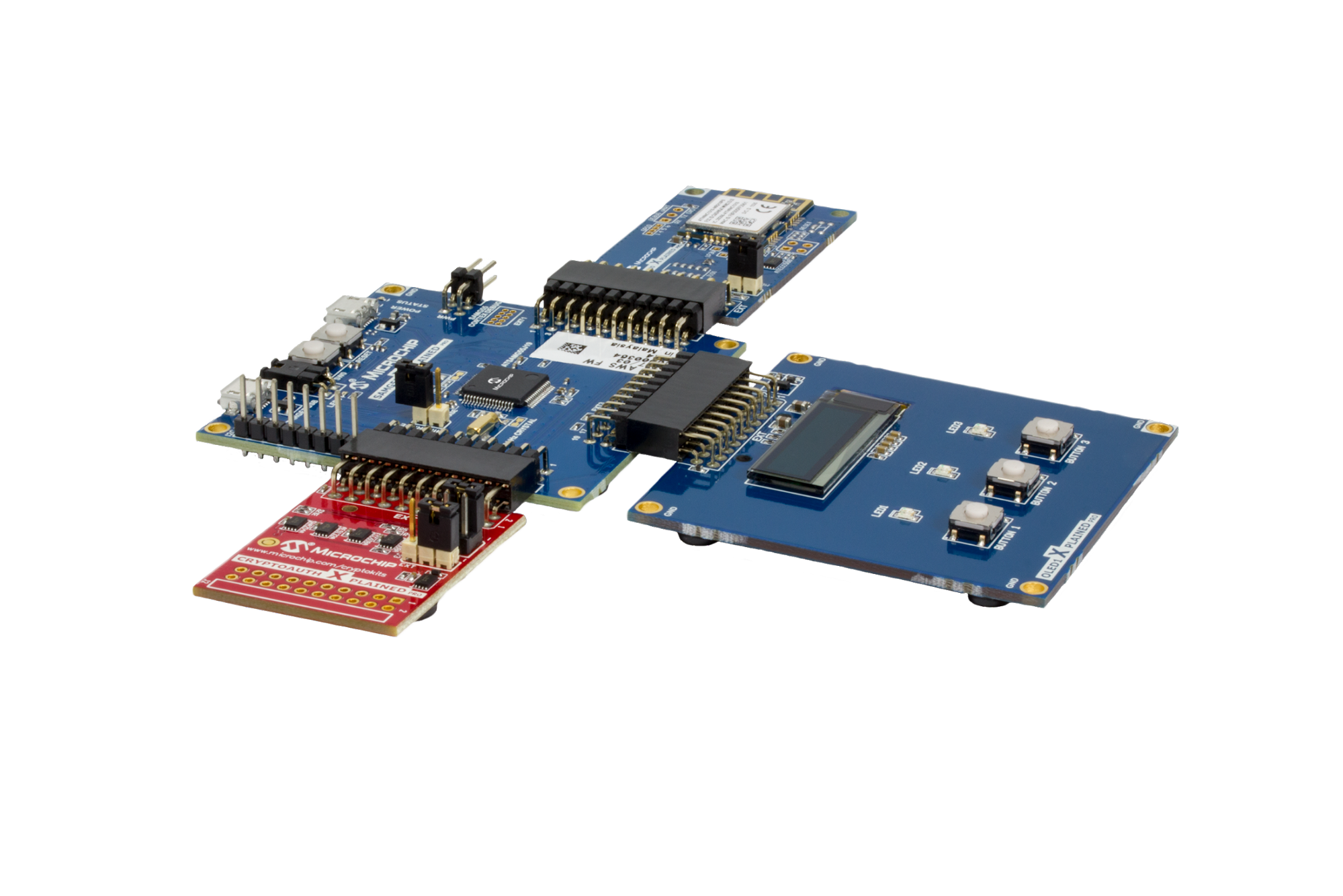 hardware setup - Microchip's Zero Touch Secure Provisioning Kit