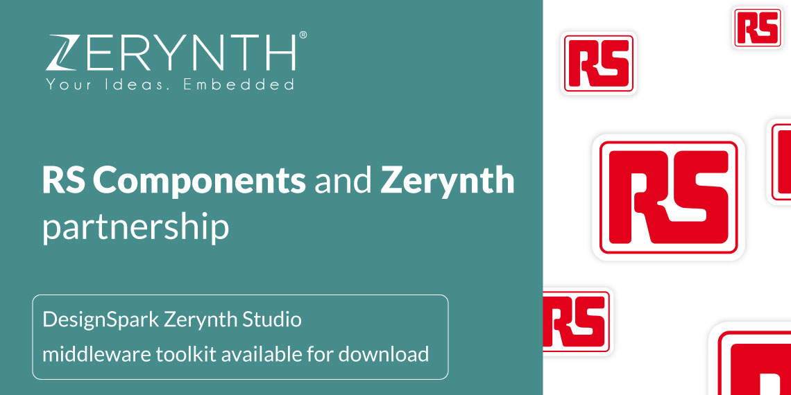RS Components and Zerynth partnership – DesignSpark Zerynth Studio middleware toolkit available for download