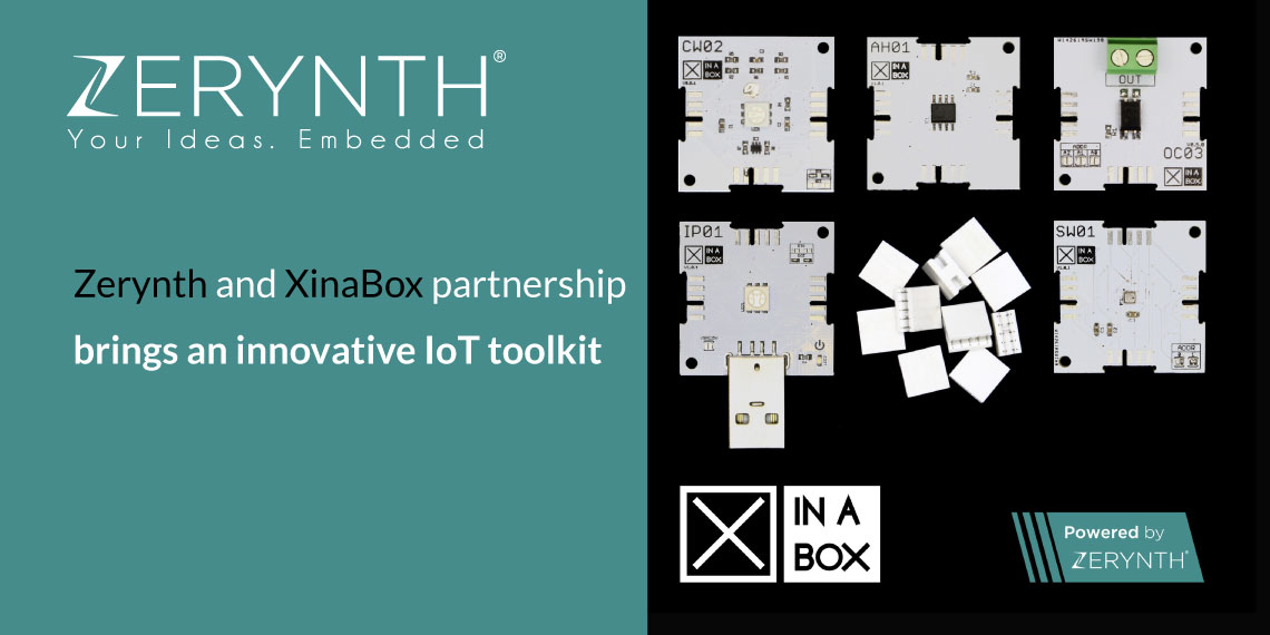 Zerynth and XinaBox partnership brings an innovative IoT toolkit