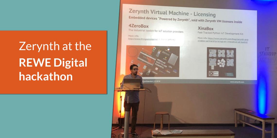 Simplifying IoT development for Retail at REWE Digital hackathon