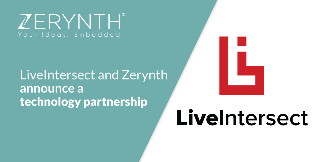 LiveIntersect and Zerynth announce a technology partnership