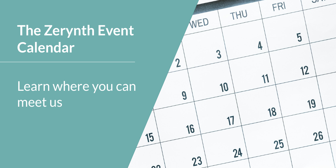 The Zerynth event calendar – learn where you can meet us