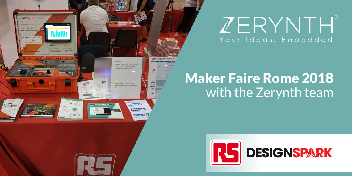 Maker Faire Rome 2018 with the Zerynth team