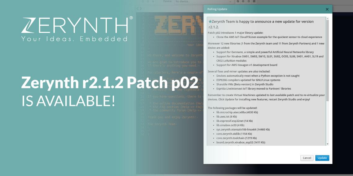 Zerynth update patch