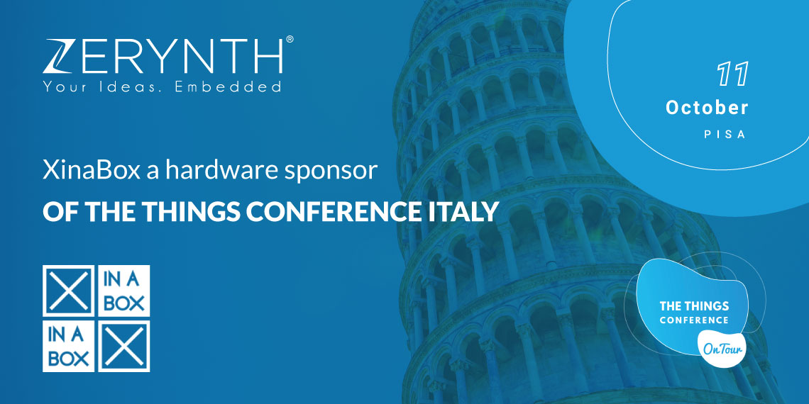 XinaBox kits at The Things Conference Italy – explore LoRaWAN and Python