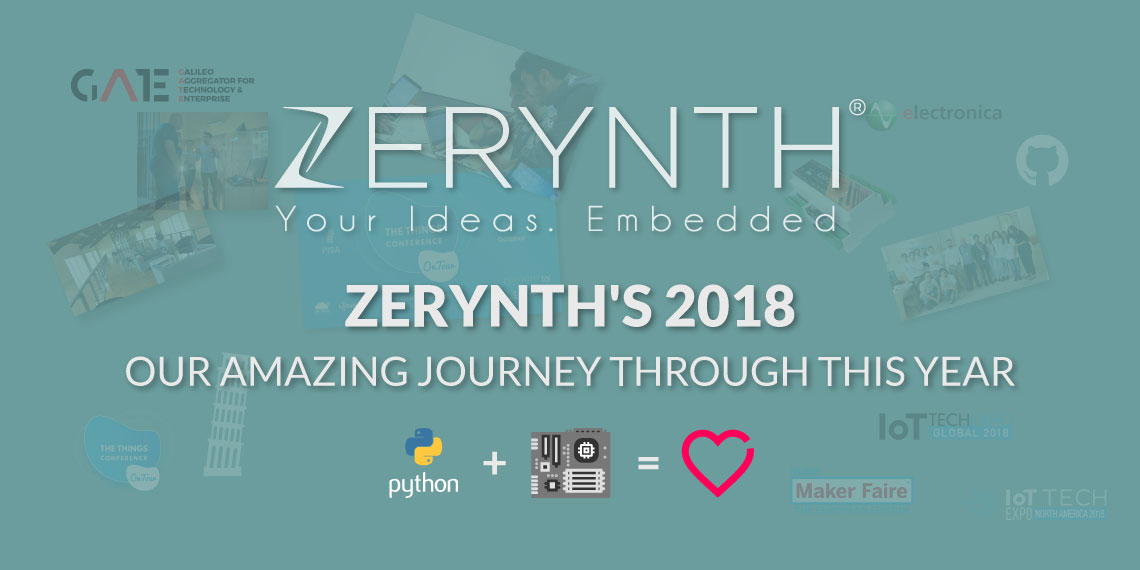 Zerynth's 2018 – Our amazing journey through this year