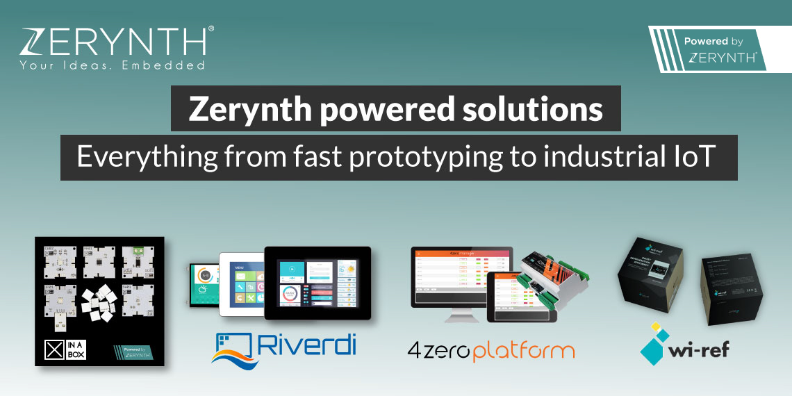 Zerynth powered solutions – everything from fast prototyping to industrial IoT