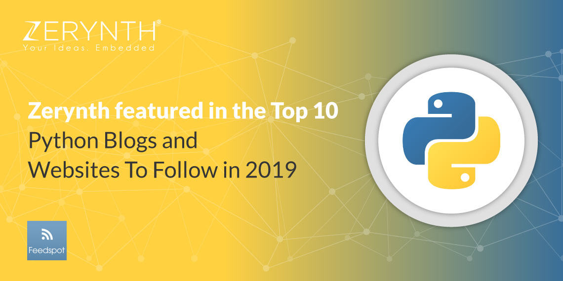 Zerynth featured in the Top 10 Python Blogs and Websites To Follow in 2019