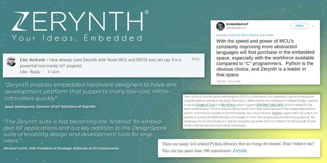 What Do People Think About Zerynth? Python for The Internet of Things