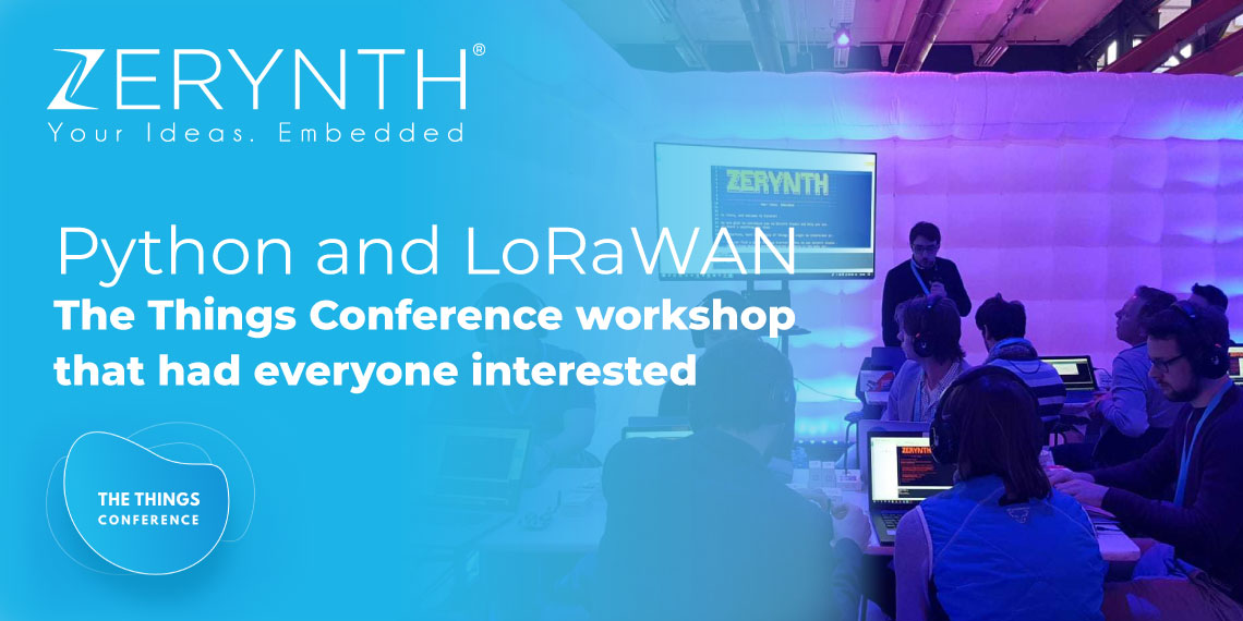 Python and LoRaWAN – The Things Conference workshop that had everyone interested