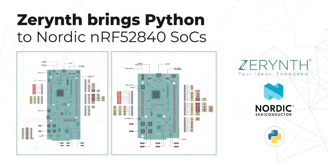 Nordic's nRF52840 SoC is now Zerynth supported