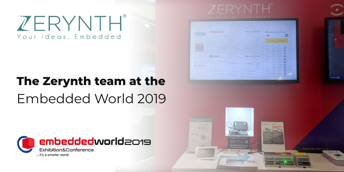 The Zerynth team at the Embedded World 2019
