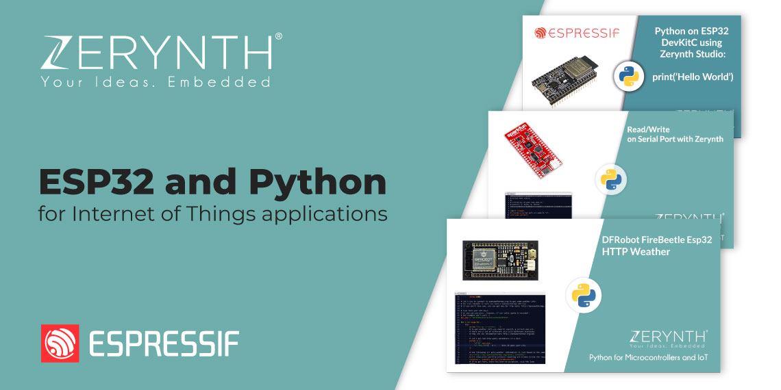 ESP32 and Python for Internet of Things applications