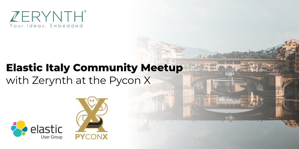 Elastic Italy Community Meetup with Zerynth at the Pycon X