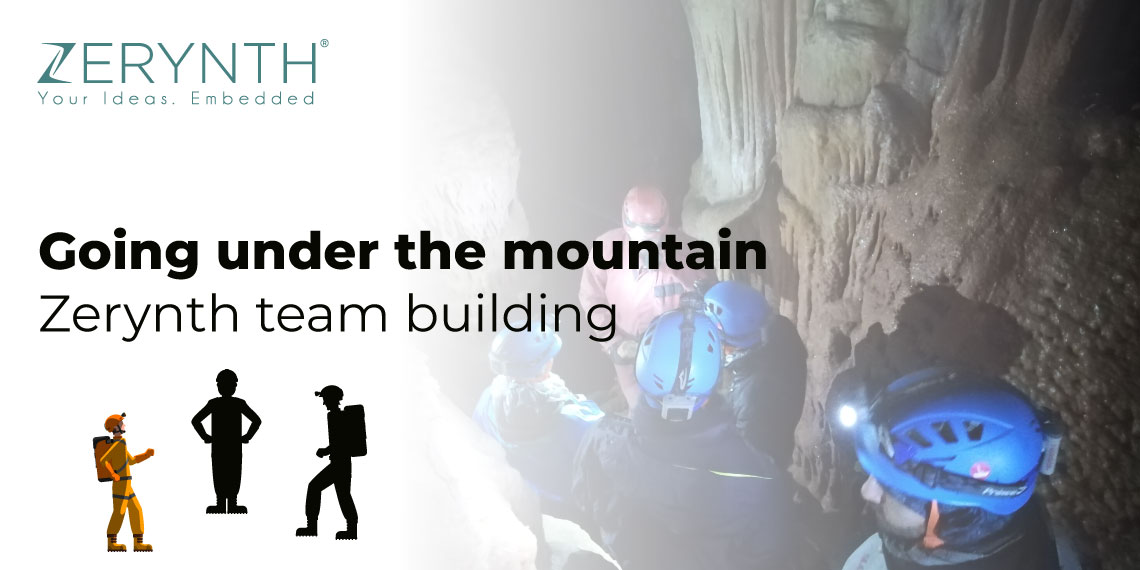 Going under the mountain – Zerynth team building