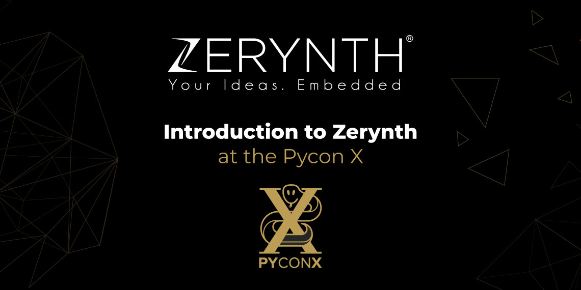 Introduction to Zerynth at the Pycon X