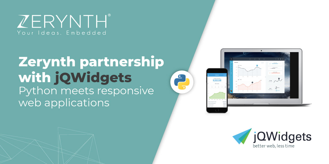 Zerynth partnership with jQWidgets – Python meets responsive web applications