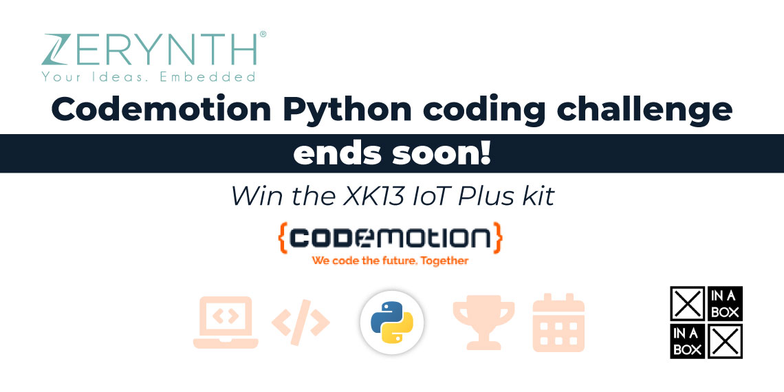 Codemotion Python coding challenge ends soon!