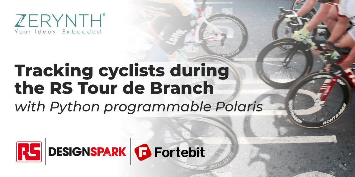 Tracking cyclists during the RS Tour de Branch with Python programmable Polaris