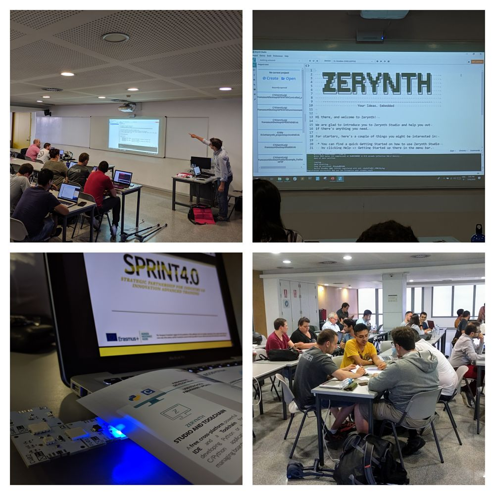 SPRINT 4 0 course in Pisa - build Industrial IoT projects in