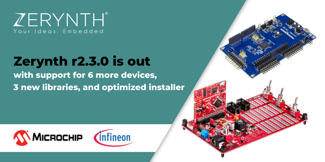 Zerynth r2.3.0 is out with support for 6 more devices, 3 new libraries, and optimized installer