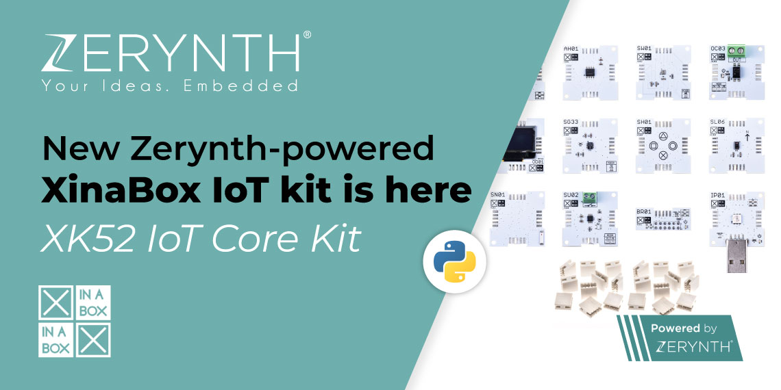 New Zerynth-powered XinaBox IoT kit is here – XK52 IoT Core Kit
