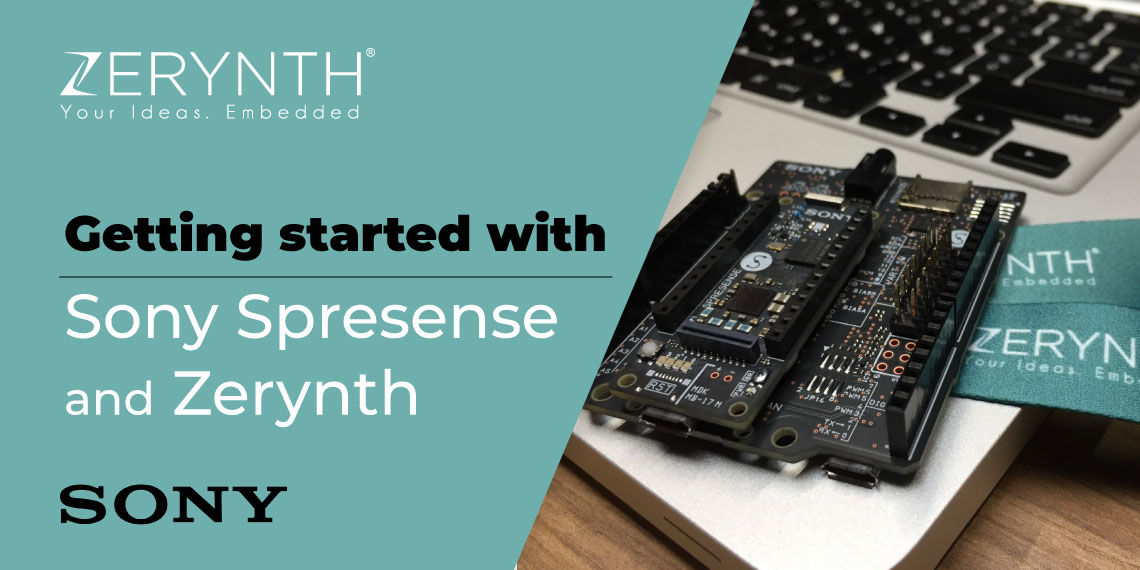 Getting started with Sony Spresense and Zerynth