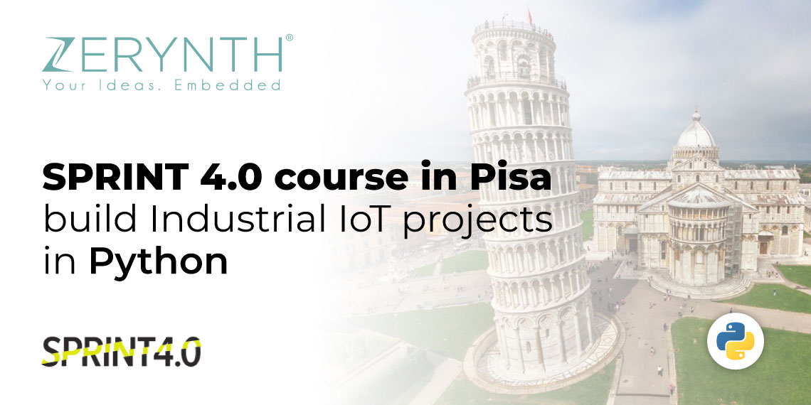SPRINT 4.0 course in Pisa – build Industrial IoT projects in Python