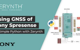 Using GNSS Sony Spresense Zerynth