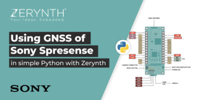 Using GNSS Sony Spresense Zerynth