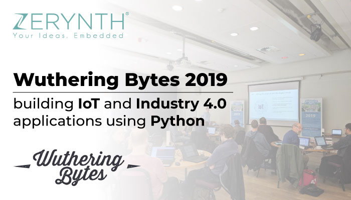 Wuthering Bytes 2019 – building IoT and Industry 4.0 applications using Python
