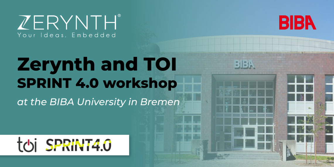 BIBA Bremen SPRINT 4.0 Zerynth workshop