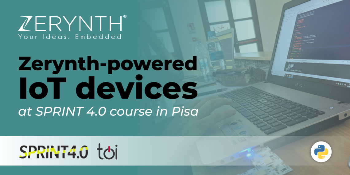 Zerynth-powered IoT devices at SPRINT 4.0 course in Pisa